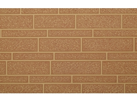 Wide or narrow brick style PU pannel